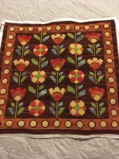 Cross Stitching, Cross Stitch Embroidery, Embroidery Patterns, Hand Embroidery, Knitting Patterns, Cross Stitch Needles, Cross Stitch Charts, Cross Stitch Patterns, Tapete Floral