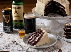Irish Car Bomb Cake Recipe. The ultimate St. Patrick's Day dessert!