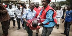 """Top News: """"KENYA POLITICS: Police Disperse Protesters as Odinga Tempers Vote Protest Call"""" - https://i2.wp.com/politicoscope.com/wp-content/uploads/2017/08/Kenya-Red-Cross-emergency-workers-take-care-of-wounded-men-after-about-15-people-were-allegedly-beaten-during-a-police-raid-in-Nairobi.jpg?fit=1000%2C500&ssl=1 - When called for clarification, Odinga's spokesman said he was saying """"peaceful protests"""" would still take place and that the opposition would fully explain"""
