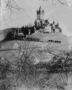 Burg Cochem German Castle 1870s 8x10 Reprint Of Old Photo