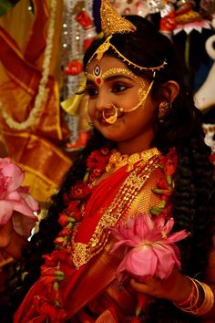 Kumari, the Goddess as a child, Durga Puja 2014, photo from Halley Goswami and friens Durga pujo Kolkata