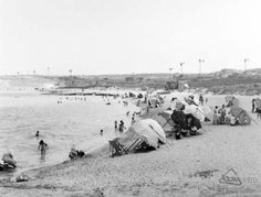 1950 at the beach .thanks to terry graham Maltese People, Malta History, Malta Island, Little Island, Old Photos, Graham, 19th Century, Beautiful Places, To Go