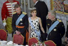 Luxarazzi: Gala Dinner for Queen Margrethe's 75th Birthday, Denmark, April 15, 2015-Grand Duke Henri of Luxembourg, Queen Letizia of Spain, King Philippe of Belgium
