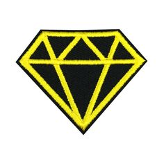 Diamond Patch Embroidered Punk Iron On Sew On Patches