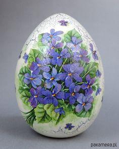Wielkanoc - jajka-Fiołkowe