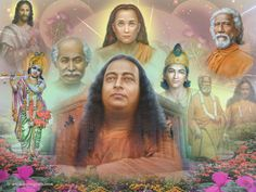 Yogananda with the rest of Them! Pure Image, Indian Spirituality, Autobiography Of A Yogi, Showing Respect, Teacher Photo, Ascended Masters, Spiritual Teachers, Spiritual Inspiration, Yoga Meditation