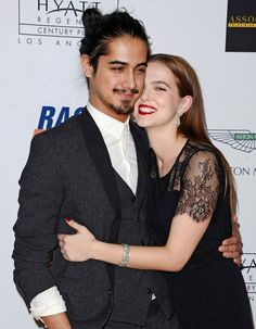 Avan Jogia Photos Photos - Annual Race to Erase MS Gala.The Hyatt Regency Century Plaza Hotel, Los Angeles, California.May by Axelle Woussen/Bauer-Griffin).Pictured: Zoey Deutch and Avan Jogia. - Annual Race to Erase MS Avan Jogia Girlfriend, Evan Jogia, Tori And Beck, Zoey Deutch, Destin, Next Fashion, Celebrity Couples, Barista, Couple Goals