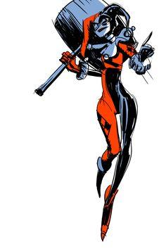Harley Quinn by Mindy Lee