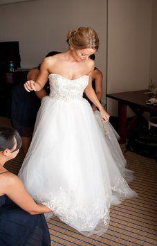 Casablanca 2077 Wedding Dress $950