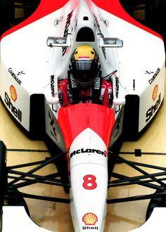 Maybe Senna's greatest year.  1993