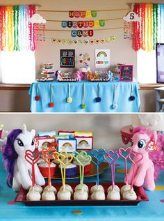 Rainbow Dash My Little Pony Birthday Party