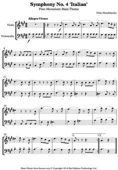Johann PachelbelS Canon In D Viola And Cello Duet Sheet Music