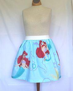 Disney's Little Mermaid Ladies Skirt