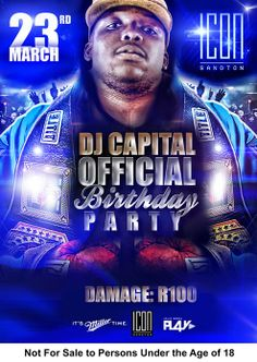 cap official B DAY Party