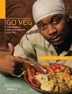 Eating vegetables is str8 up gangsta