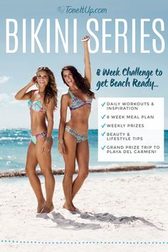 Your most memorable, sizzling hot summer of a lifetime is just a few weeks away! The annual BIKINI SERIES fitness challenge happens only once a year...and you don't want to miss it! It's not too late to join the fun! Sign up TODAY!