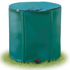 STC Collapsible Rain Barrel with Diverter, 200-Gallon - http://supplies.myraisedbedgarden.net/watering-equipment/rain-barrels/stc-collapsible-rain-barrel-with-diverter-200-gallon/