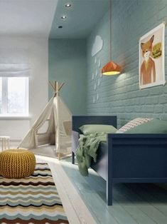 PLAYFUL KIDS BEDROOM IDEAS WITH AN ADVENTUROUS CAMPING FEEL