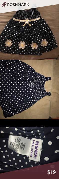 HP PICK Blueberi Boulevard Baby girl summer dress Gently used. No stains. Cure summer dress for your baby girl! blueberi boulevard Dresses Casual