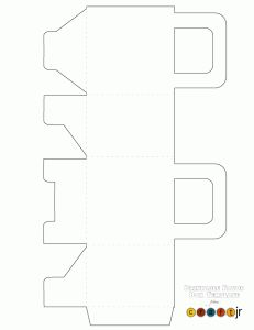 blank printable pie box template printable templates pinterest