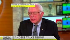 Bernie Sanders: Trump's Reaction to Obama Muslim Question a 'Disgrace'