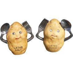 Latke Salt & Pepper Shakers