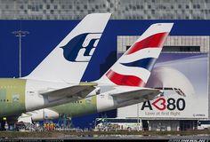 A380 Malaysian et British @ TLS.