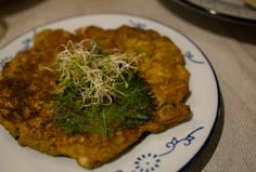 Kimchi Pancake from Grassroots Pantry in Hong Kong | Sai Ying Pun, Hong Kong #vegan