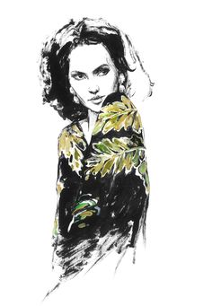 Modeconnect.com - Fashion illustration by Diana Kuksa (Nesypova)