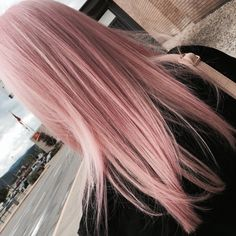 27 Pretty Rose Pink Hair Color Ideas - Page 25 of 26 - Top Trendy Hairstyles Rose Pink Hair, Pastel Pink Hair, Gold Hair Colors, Hair Color Pink, Hair Colours, Color Blue, Ombre Hair, Pink Blonde Ombre, Gorgeous Hair