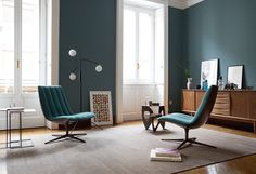 Shop for Healey Lounge by Walter Knoll online or in store at Living Edge. Small Furniture, Modern Furniture, Furniture Design, Knoll Chairs, Lounge Chairs, Interior Architecture, Interior Design, Upholstered Furniture, Floor Chair