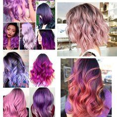 Pastel Pink, Lilac, Androgynous Haircut, Gifts Sets, Pink Hair, Hair Colors, Magenta, Hair Inspiration, Wedding Hairstyles