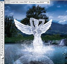 Create an Angelic Sculpture Made of Ice in Photoshop - Tuts+ Design & Illustration Tutorial