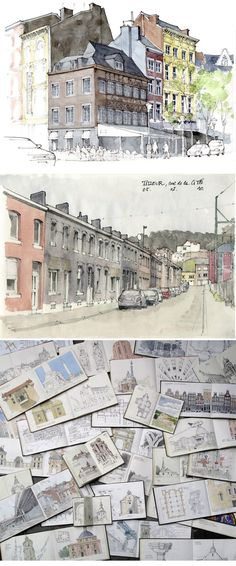 Gérard Michel http://www.urbansketchers.org/search/label/G%C3%A9rard%20Michel