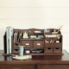 look at this beautiful thing. Original Home Office™ Desk Organizers
