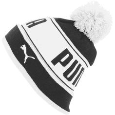 a3c9245cdcb Puma Capital Pom Beanie ( 28) ❤ liked on Polyvore featuring accessories