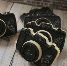 Canon Camera Cookies.