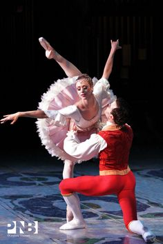 """Lesley Rausch and Jonathan Porretta, """"The Nutcracker"""", Pacific Northwest Ballet Ballet Costumes, Dance Costumes, Dancer Drawing, Pacific Northwest Ballet, Male Ballet Dancers, Dance Movies, All About Dance, Belly Dancing Classes, Kinds Of Dance"""