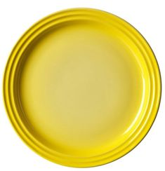 Le Creuset Speiseteller Citrus Ø 27 cm Le Creuset, Yellow Plates, Tableware, Dinnerware, Tablewares, Dishes, Place Settings