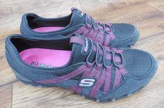 SIZE UK 4 SKECHERS BIKERS VERIFIED LEISURE TRAINERS, COMFORTABLE WALKING SHOES