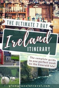 Pubs, castles, national parks, and rolling hills—your complete guide to a perfect 7 days in Ireland! Written by a backpacker who has friends and family across the emerald aisle. This itinerary can be customized depending on if you rent a car or use public transportation, and whether you stay in hostels or B&Bs. If you are a nature and history loving traveler of any budget, you WILL be able to plan an amazing Ireland trip with these tips. #ireland #europe #travel #wanderl via…