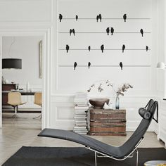 Perfect Stocking Fillers at www.vinylimpression.co.uk Bird Wall Decal - Removable sticker. £12.79