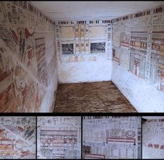 Two tombs discovered in Saqqara by IFAO
