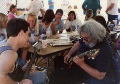 Jerry playin with a fan Grateful, Bear, Music, Kids, Musica, Young Children, Musik, Boys, Bears