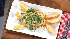 Drs. Rx: Add Extra Nutrients to One of Your Favorite Italian Dishes with THIS.  #Alfredo #Beans #Fettuccini #Food #Healty #Meal #Recipe #Sikhs #Simple #Vegan #Vegetarian !