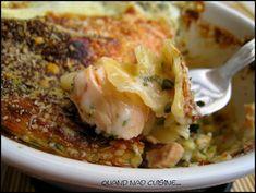 Lasagnes saumon-courgettes, sauce à l'oseille - Quand Nad cuisine...