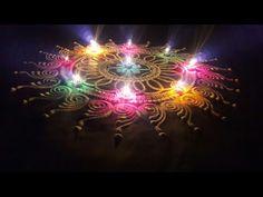|संस्कारभारती रांगोळी|How to make Sanskar Bharti Rangoli for beginners easy techniques soulwithgenie - YouTube Sanskar Bharti Rangoli Designs, Kolam Designs, Rangoli Designs For Competition, Special Rangoli, New Year Special, Diwali, Make It Yourself, Youtube
