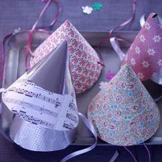 DIY: Party-Hütchen