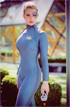 El Espacio Geek: Chica Cosplay del Día: Star Trek