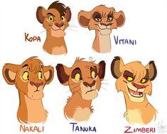 TLK Royal lions by NamyGaga on DeviantArt Lion King 4, The Lion King 1994, Lion King Fan Art, Lion King Movie, Disney Lion King, King Art, The Lion King Characters, Disney Characters, Fictional Characters